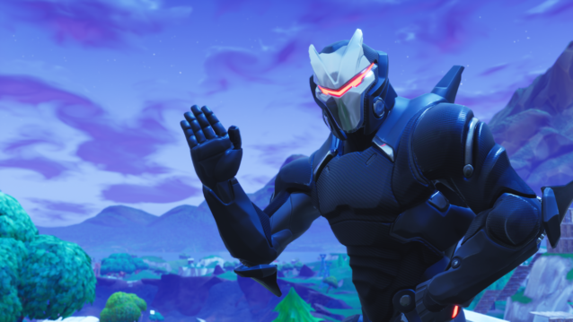 Fortnite Omega Skin Wallpapers