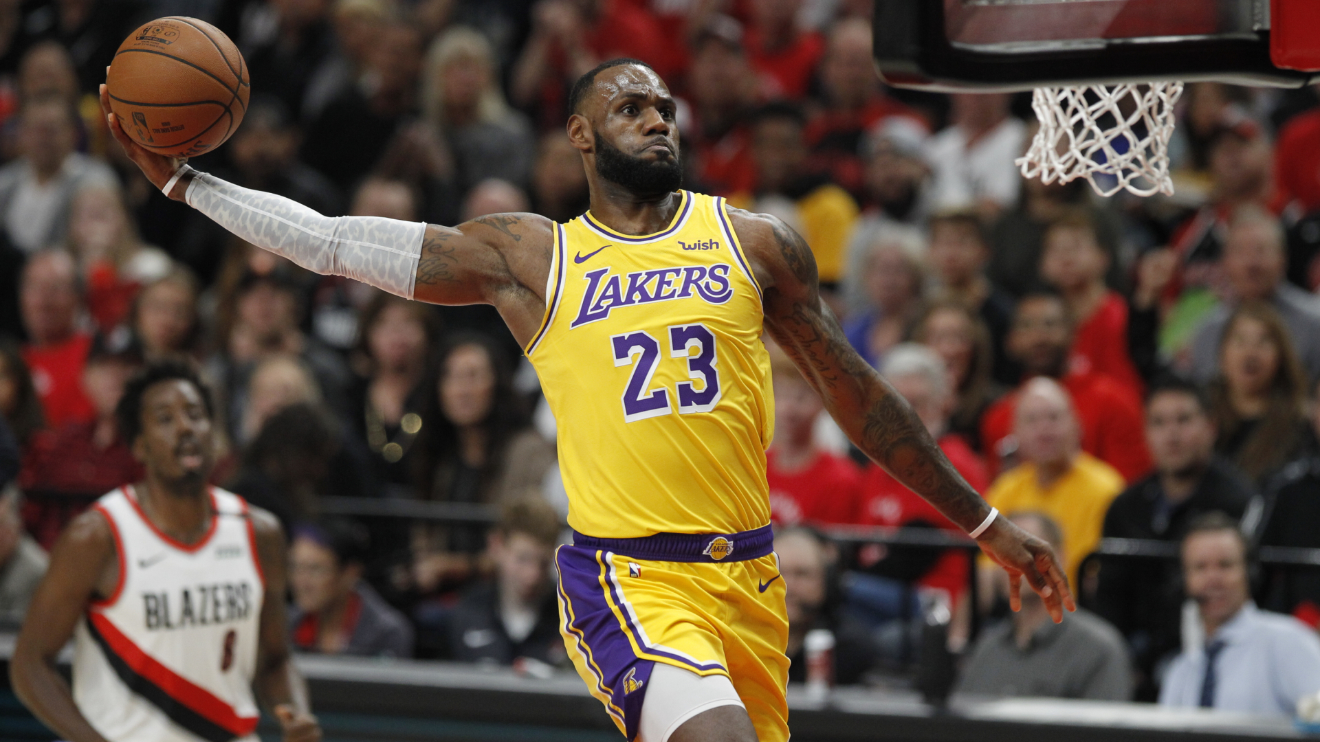 Lebron James Lakers Hd Wallpapers For All Fans Supertab Themes