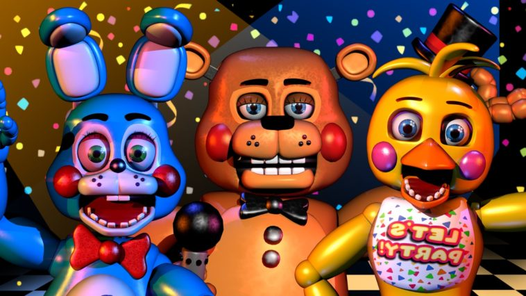 Five Nights at Freddy's Wallpapers!