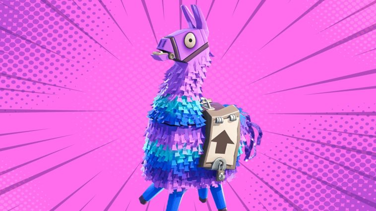 Llama fortnite best llama locations wallpapers - Fortnite llama background ...
