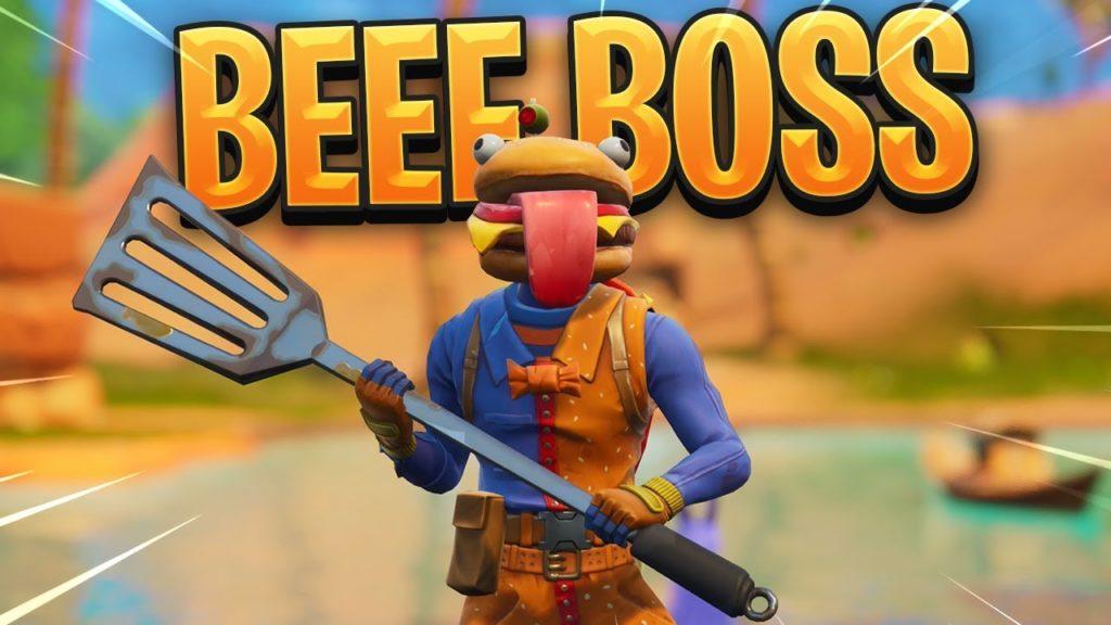 beef boss fortnite skin wallpapers - fortnite beef boss head