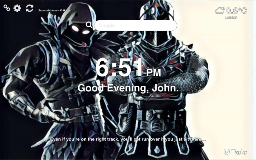Black Knight Wallpaper New Tab Theme Supertab Themes