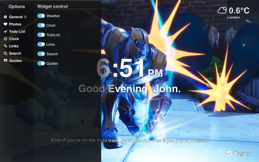 Thanos Fortnite Best Wallpapers Supertab Themes