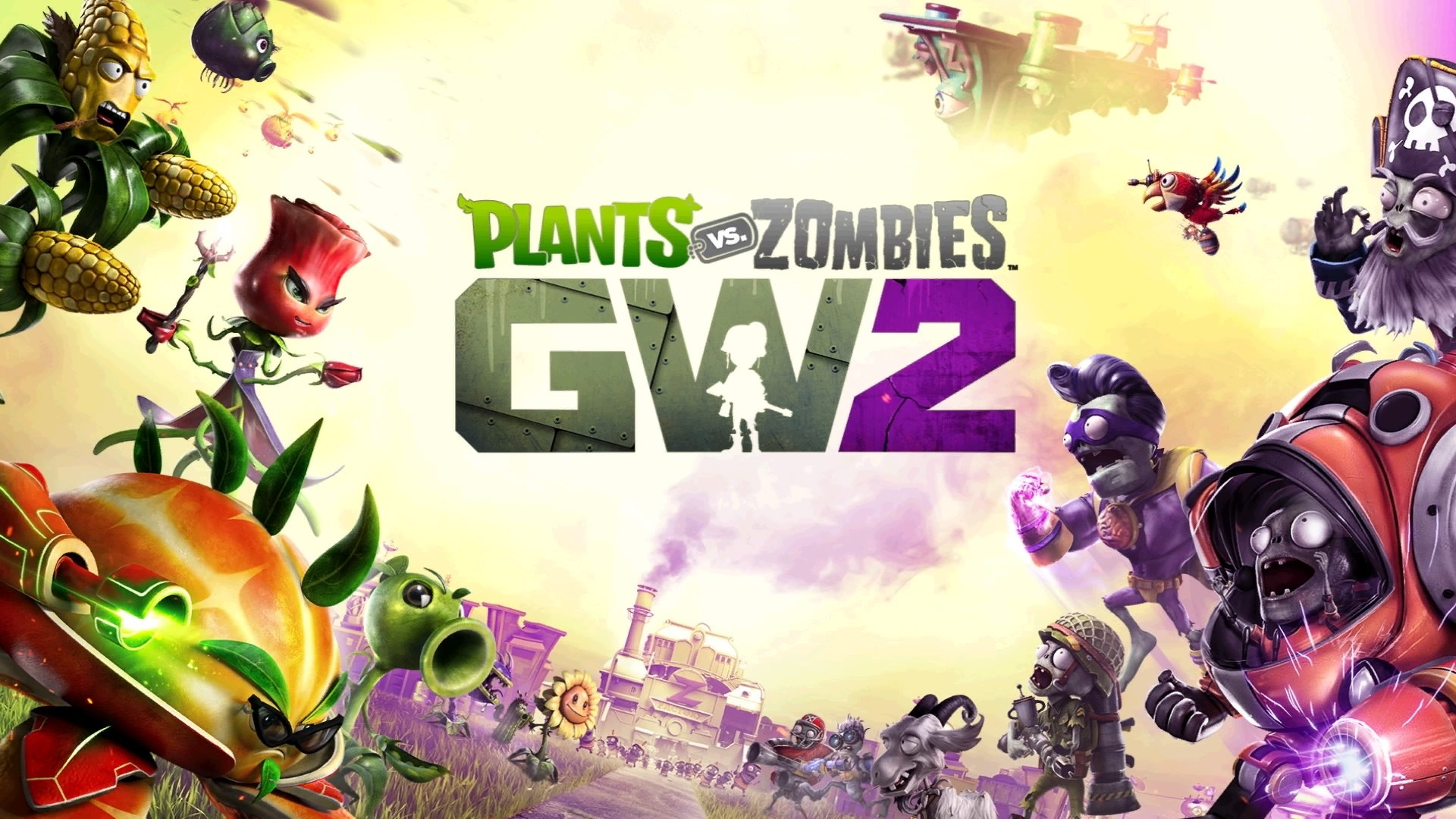 Plants Vs Zombies Best Wallpapers Supertab Themes
