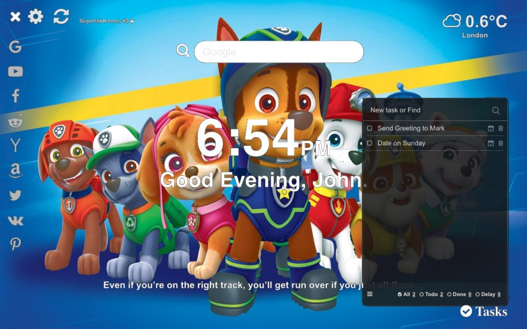 Paw Patrol Best Wallpapers Supertab Themes