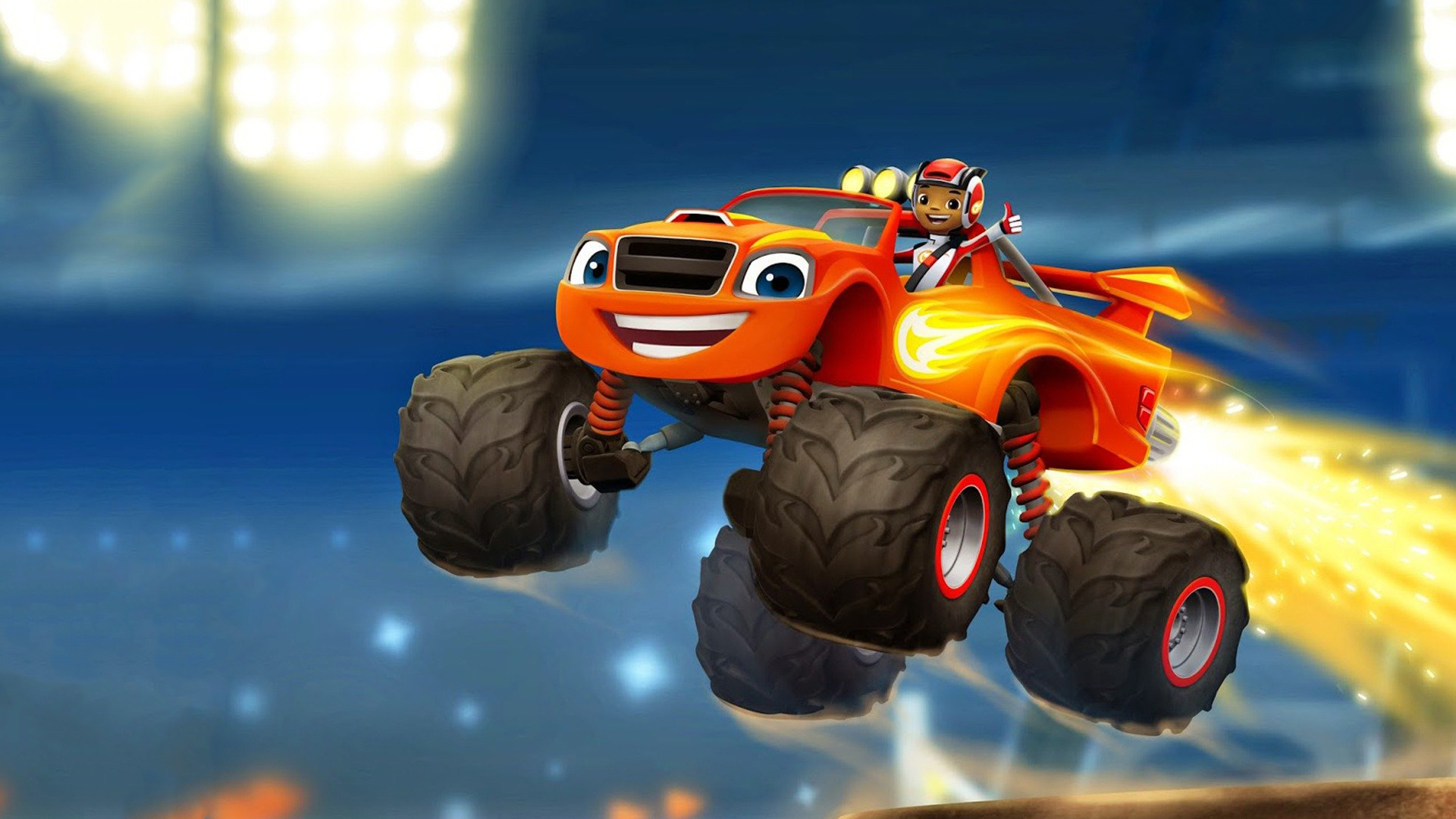 Blaze And The Monster Machines Best Wallpapers Supertab Themes