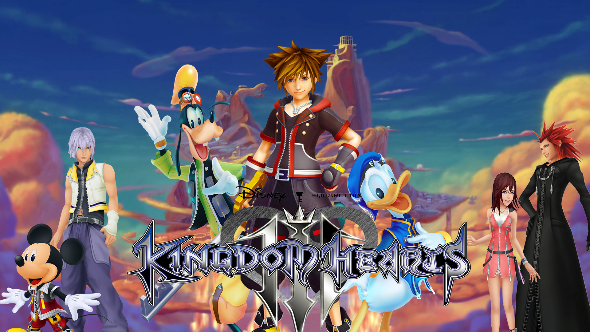 Kingdom Hearts 3 Wallpapers For Your Browser Supertab Themes