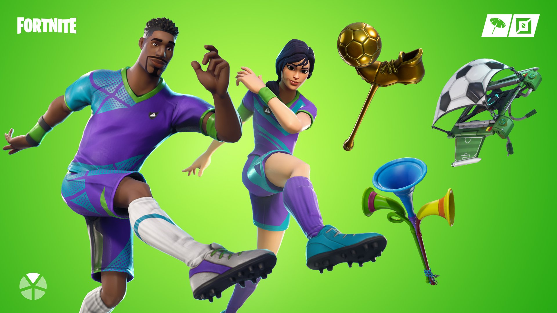 Fortnite Soccer Skins Wallpapers Supertab Themes