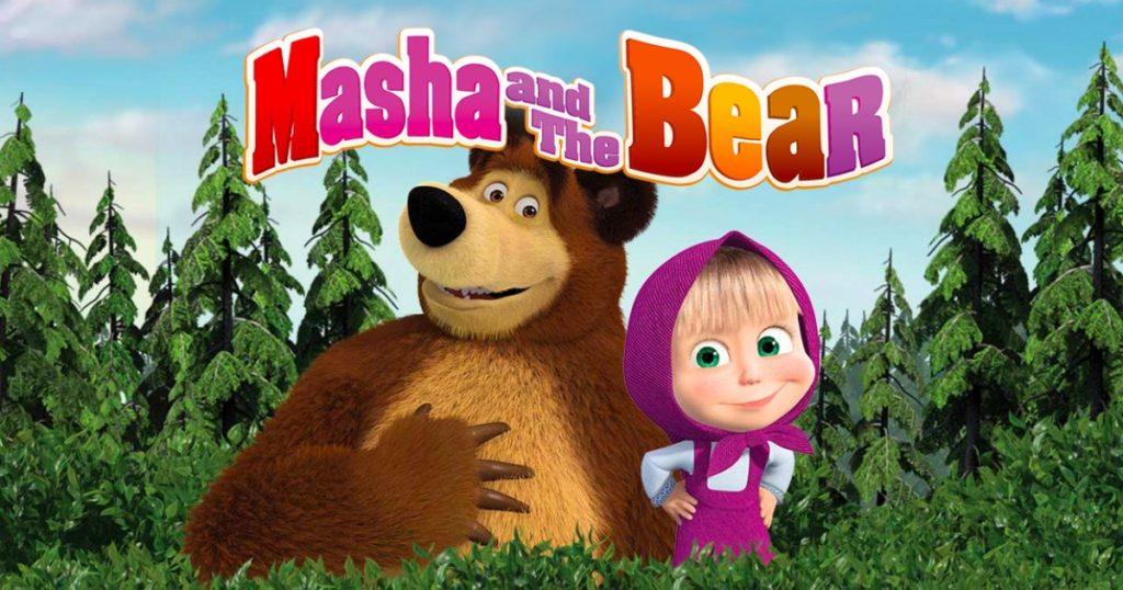 Masha And The Bear Wallpapers Supertab Themes