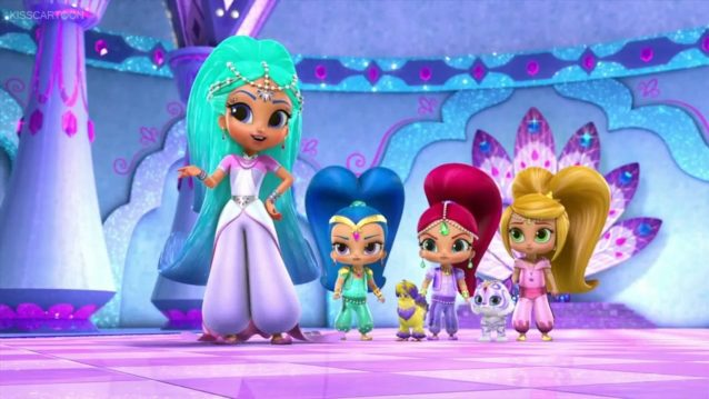 Shimmer And Shine Wallpapers Archives Supertab Themes