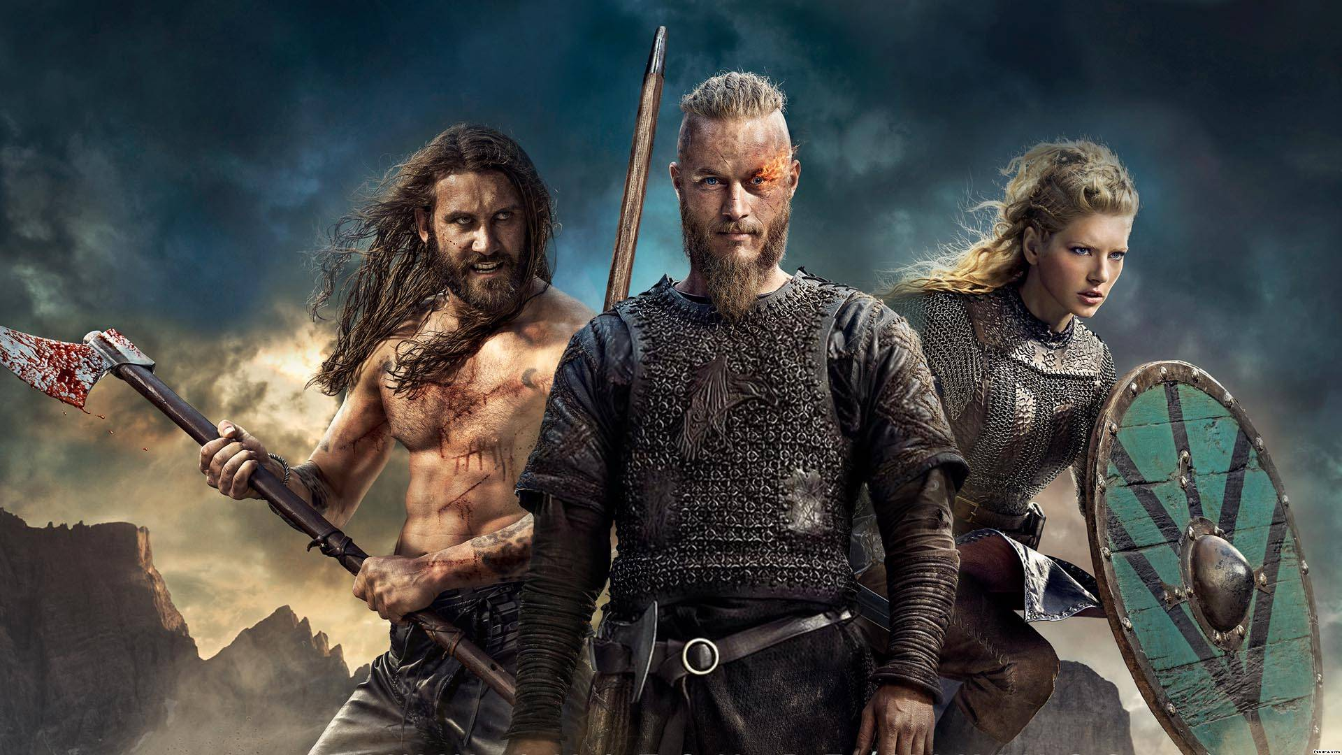 Vikings Fun Facts And Wallpapers Of The Popular Show