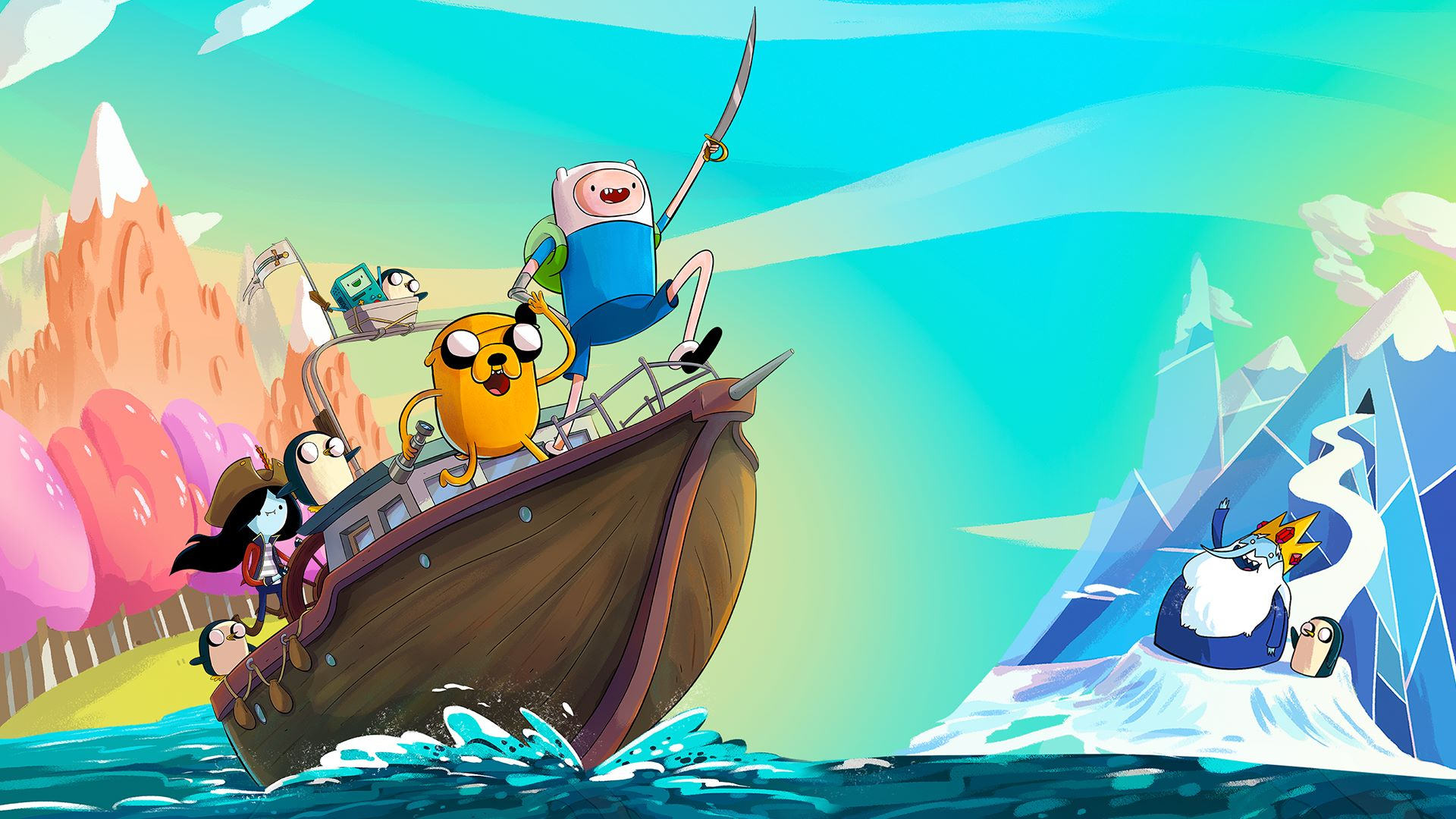 Adventure Time Wallpapers 2019 Supertab Themes