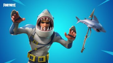 Chomp Sr Fortnite Skin Scary
