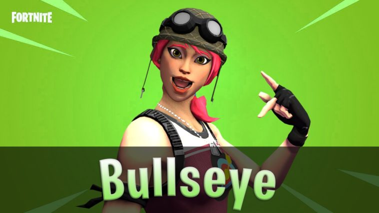 Bullseye Fortnite Skin Wallpaper