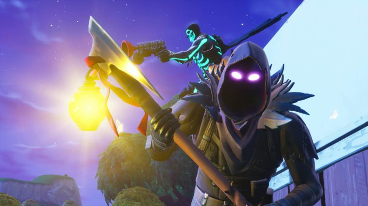 Raven Fortnite Skin With Pick Axe