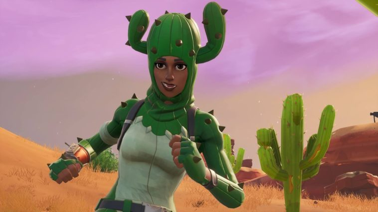 Prickly Patroller Fortnite Skin Wallpaper