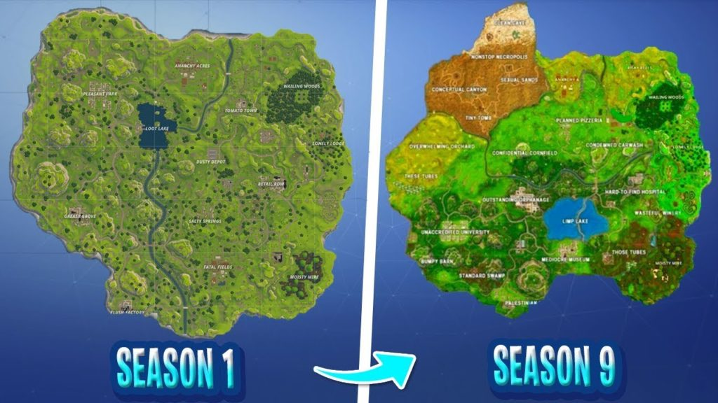 Fortnite New Locations In Season 9 Wallpapers Supertab