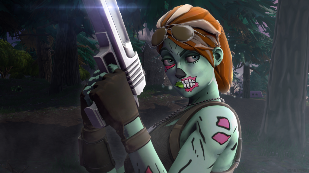 Ghoul Trooper Fortnite Skin Wallpapers