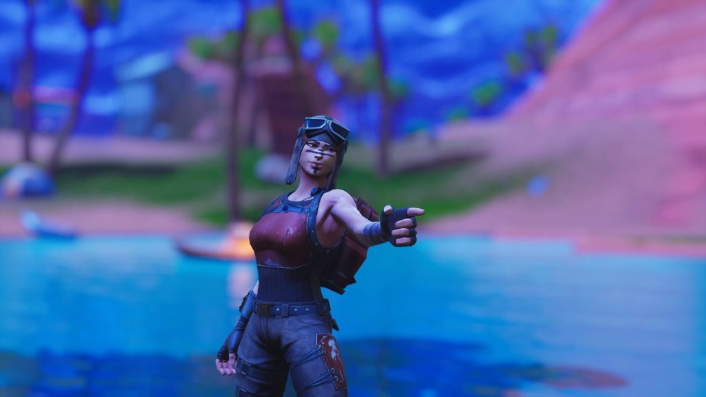Renegade Raider Fortnite Wallpaper