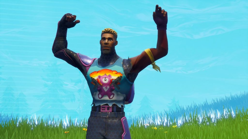 Fortnite Brite Gunner Skin Wallpapers