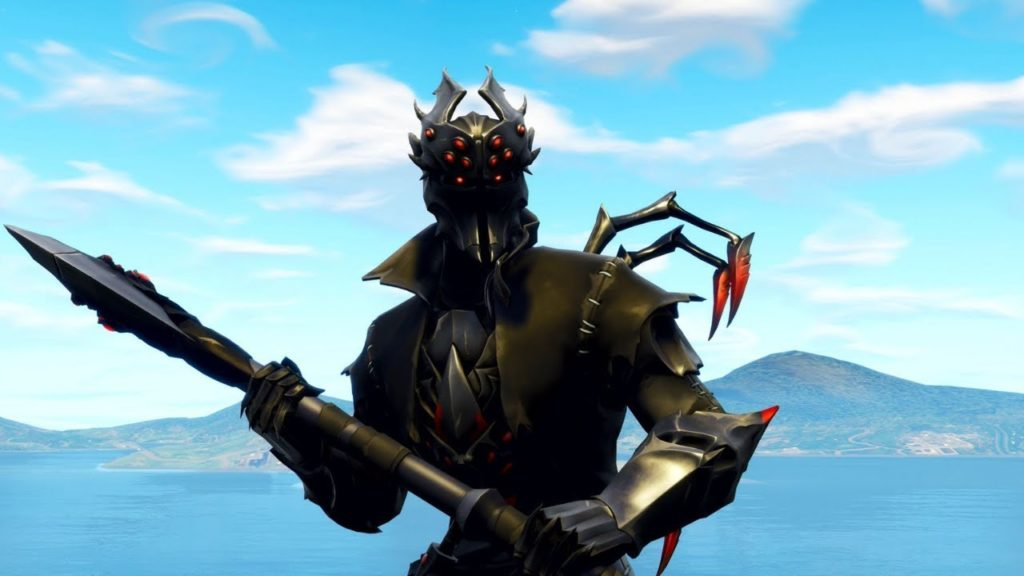 Spider Knight Fortnite Skin Rare Skin Wallpapers Supertab Themes