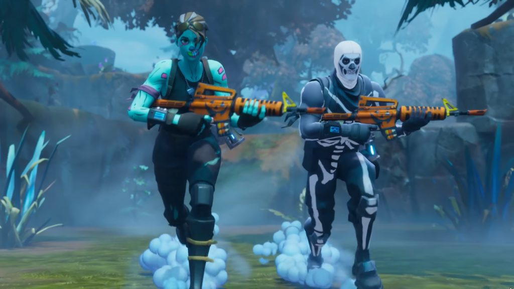 Ghoul Trooper Skin Fornite HD Wallpaper