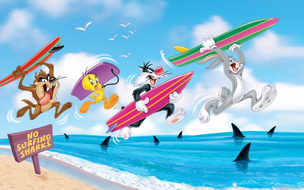 Sylvester Bugs Bunny Tweety Wallpaper