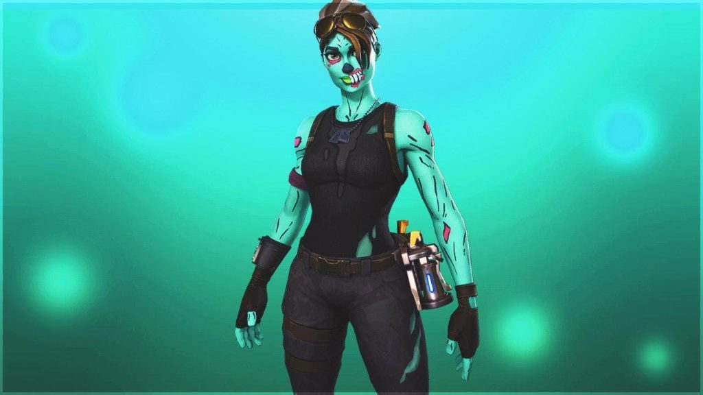 Wallpaper Ghoul Trooper Fortnite