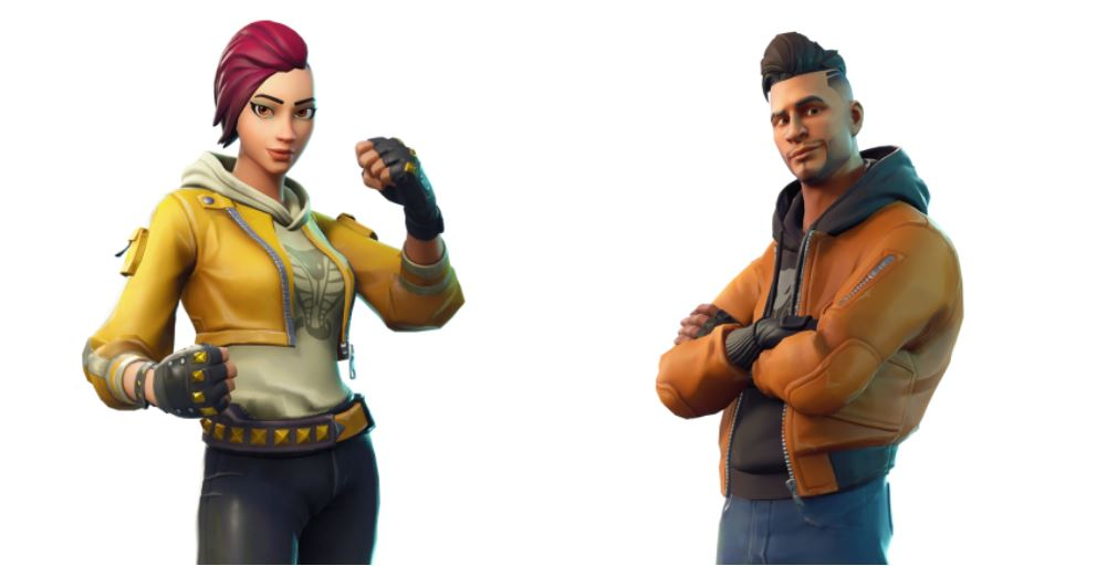 Maverick and Shade Fortnite Skins