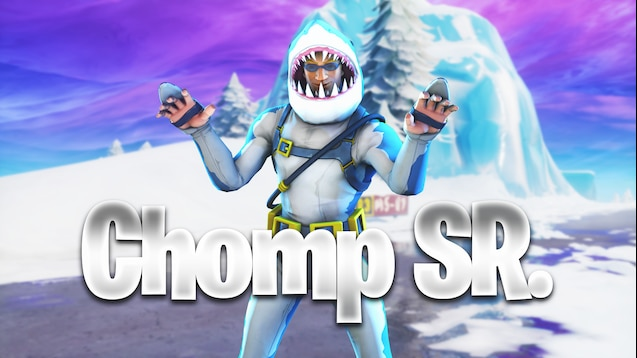 Chomp Sr Fortnite Skin