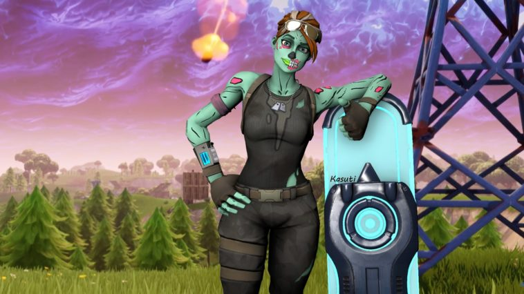 Ghoul Trooper Skin Fornite Wallpaper