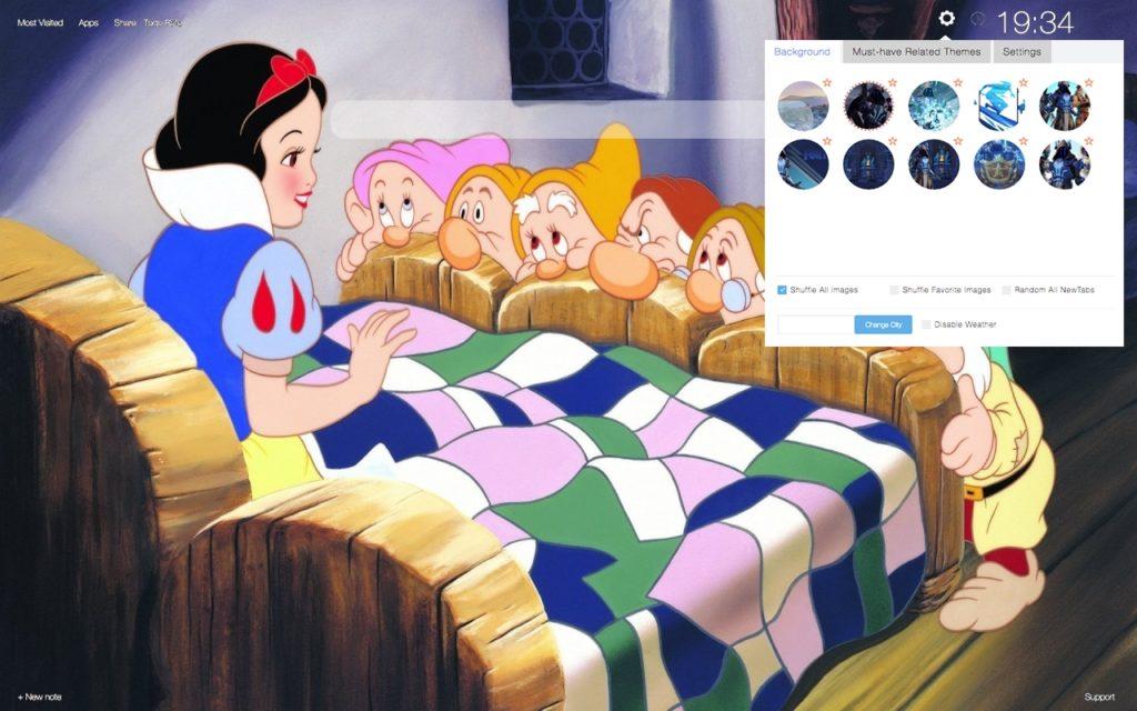 Snow White Story Wallpaper