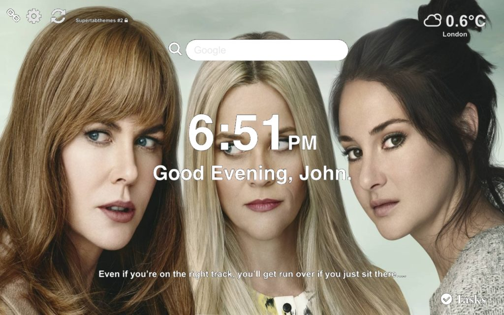 Girls form Big Little Lies Cool Series on the picture