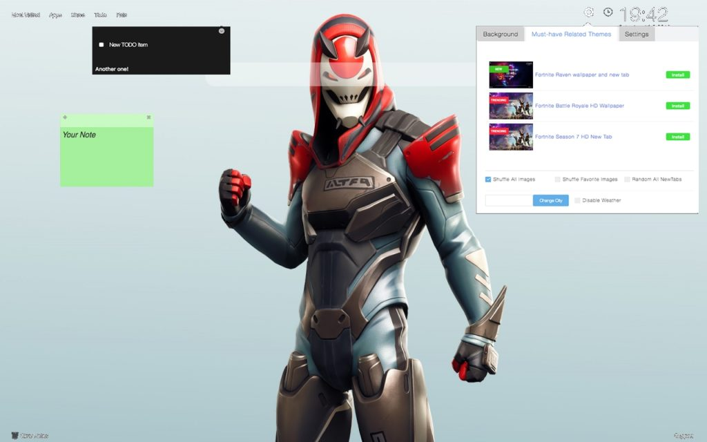 Vendetta Skin from Season 9 Fortnite