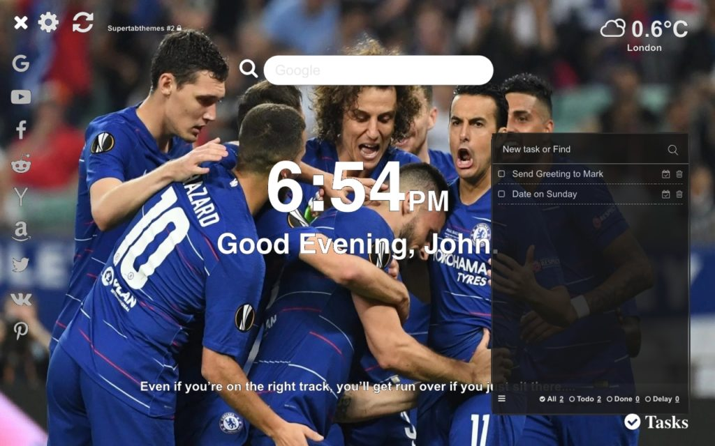 Chelsea Europa League Wallpaper