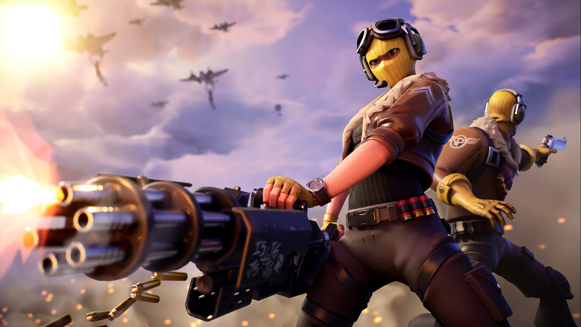 Velocity And Raptor Fortnite Skins How To Get Them Wallpapers