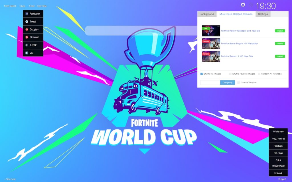 Fortnite World Cup 2019 All Details Wallpaper Supertab Themes