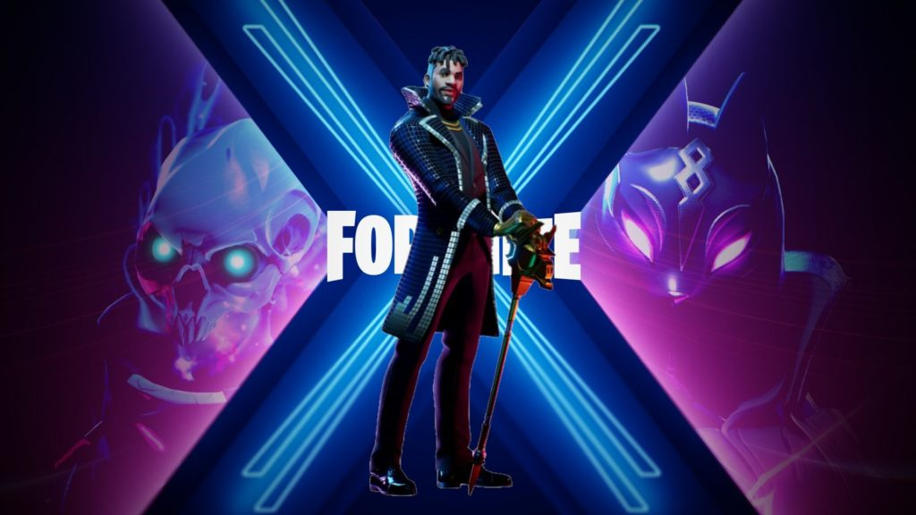 Yond3r Fortnite Skin Season X Hq Wallpapers Supertab Themes