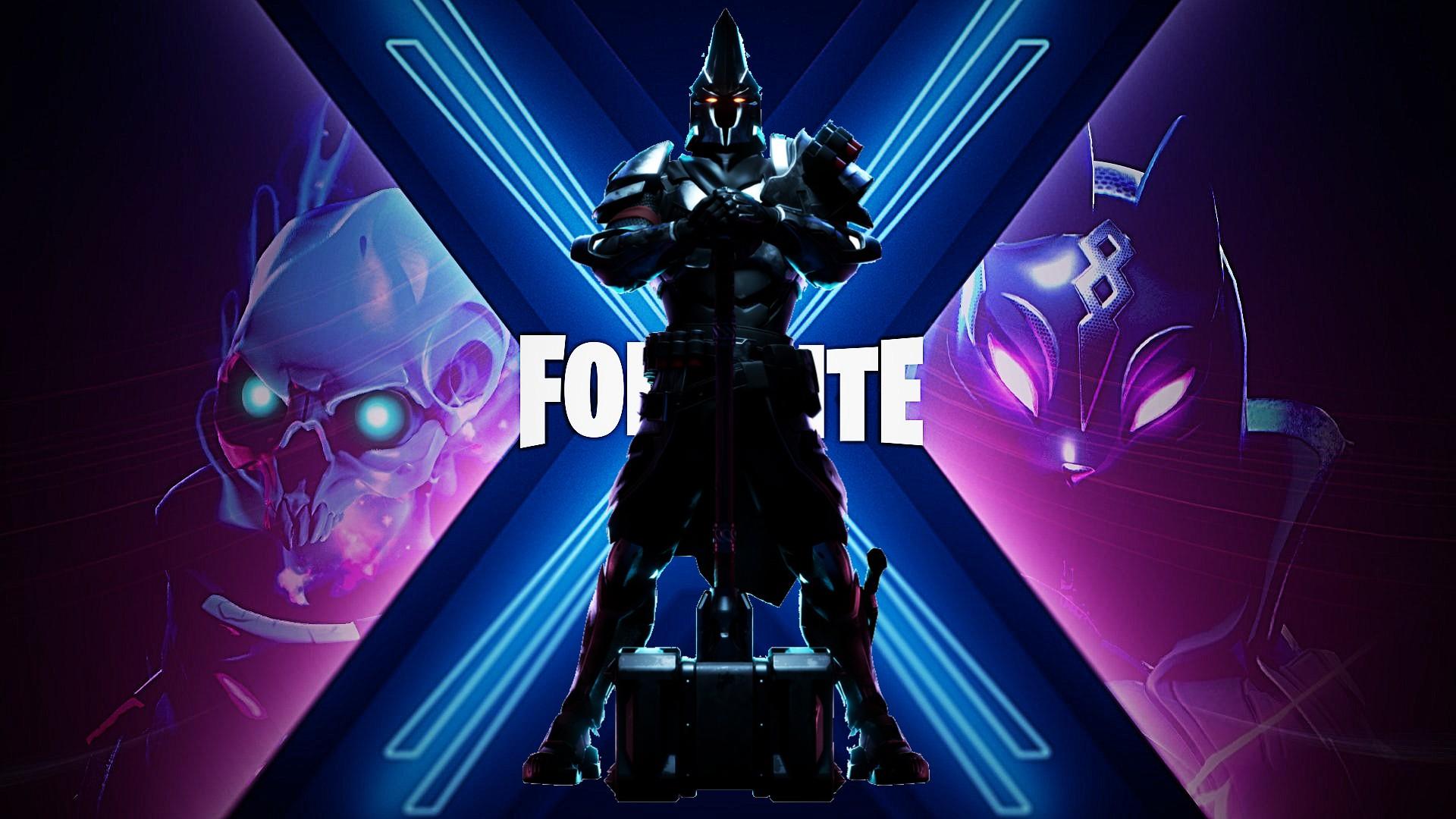 Fortnite Ultima Knight Wallpaper