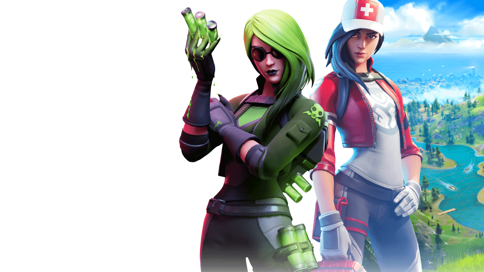 Remedy Vs Toxin Chapter 2 Fortnite Skins Details Hq Wallpapers Supertab Themes