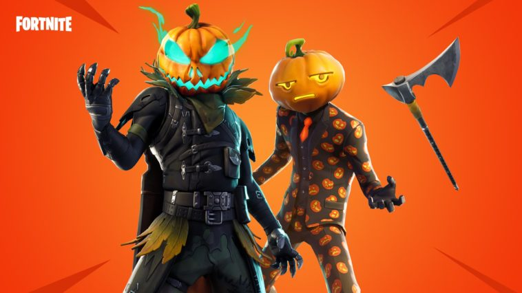 Halloween Fortnite Skins Are Here Hollowhead Fortnite Wallpapers Details Supertab Themes
