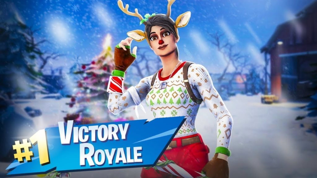Ho Ho Holidays At Fortnite Red Nosed Raider Skin Hd Wallpapers All Details Supertab Themes