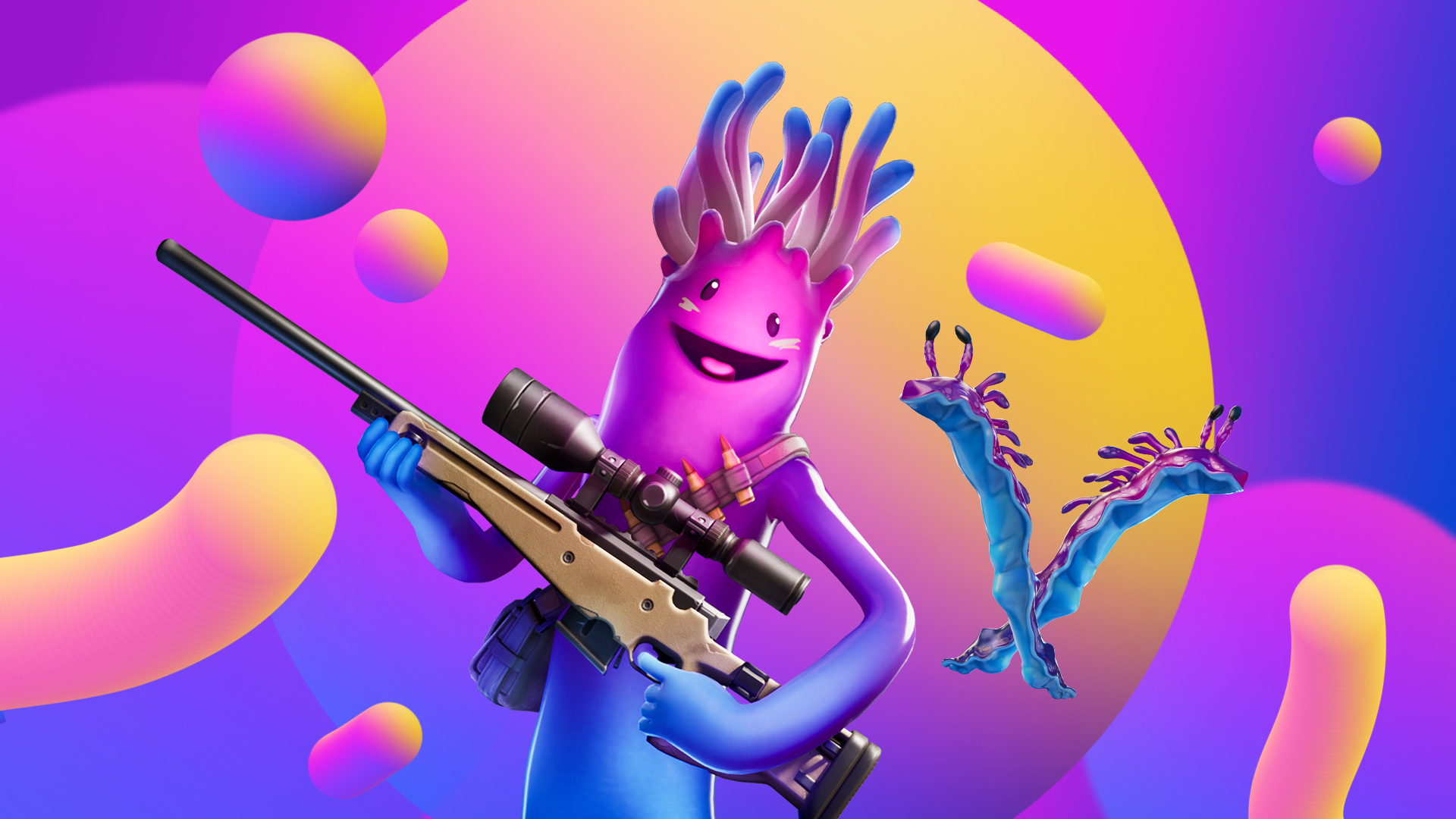 New Fortnite Skin Is Out All About Jellie Hd Wallpapers Supertab Themes