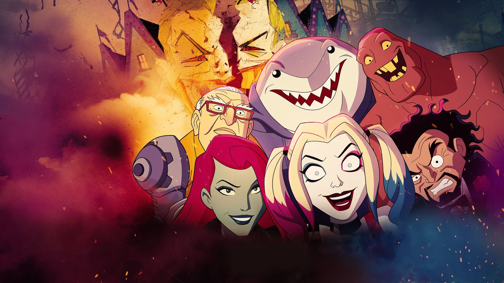 Everything About The New Harley Quinn Series Hd Wallpapers Supertab Themes