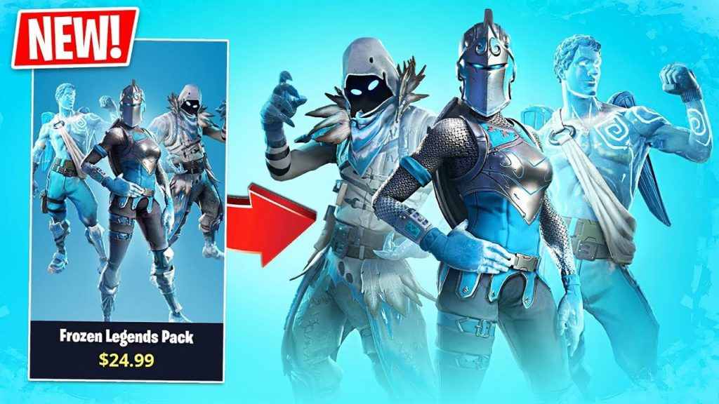 Fortnite S Frozen Legends Pack How To Get It Hd Wallpapers Supertab Themes