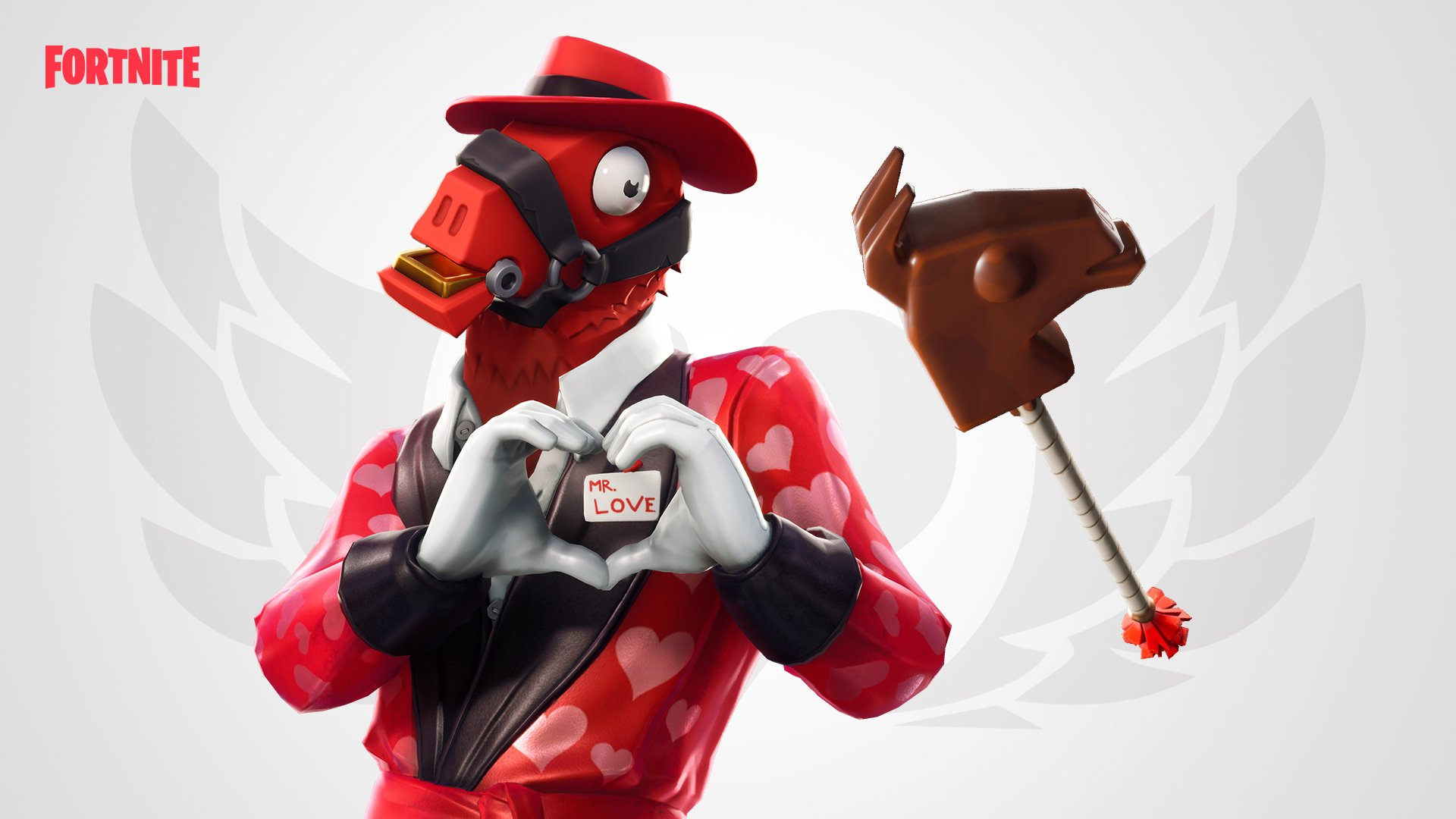 Fortnite Is All About Love Everything About Heartbreaker Skin Hq Wallpapers Supertab Themes