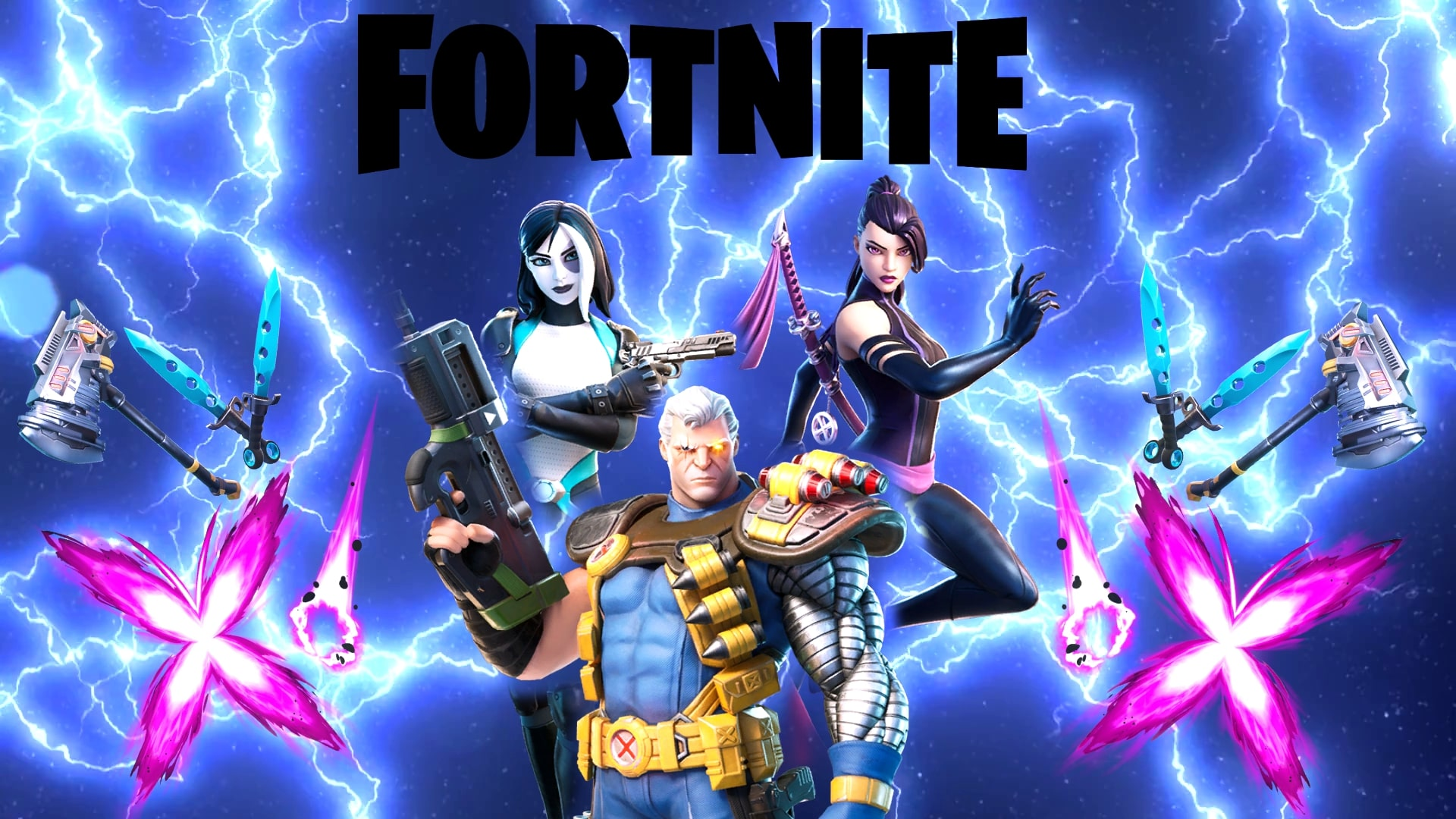 X Force In Da House New Bundle In Fortnite Hd Wallpapers Supertab Themes