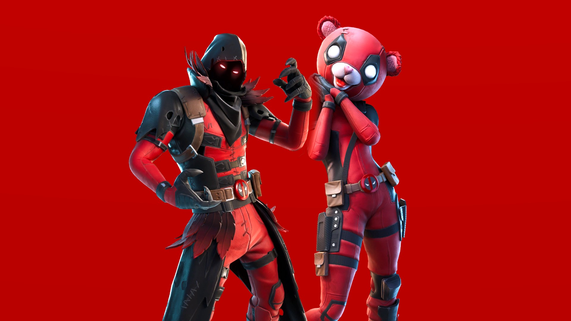 It S All About Deadpool Fortnite S Ravenpool And Cuddlepool Details Hd Wallpapers Supertab Themes