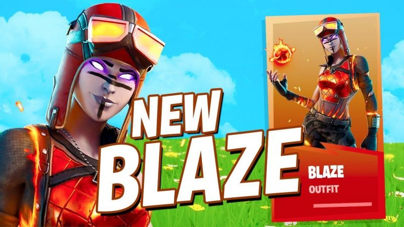 New Blaze Renegade Raider Skin Is In Fortnite S Item Shop All Details Blaze Fortnite Wallpapers Supertab Themes