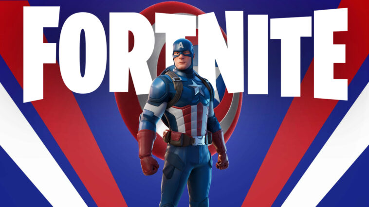New Captain America Skin Arrives For The 4th Of July Captain America Fortnite Wallpapers Supertab Themes